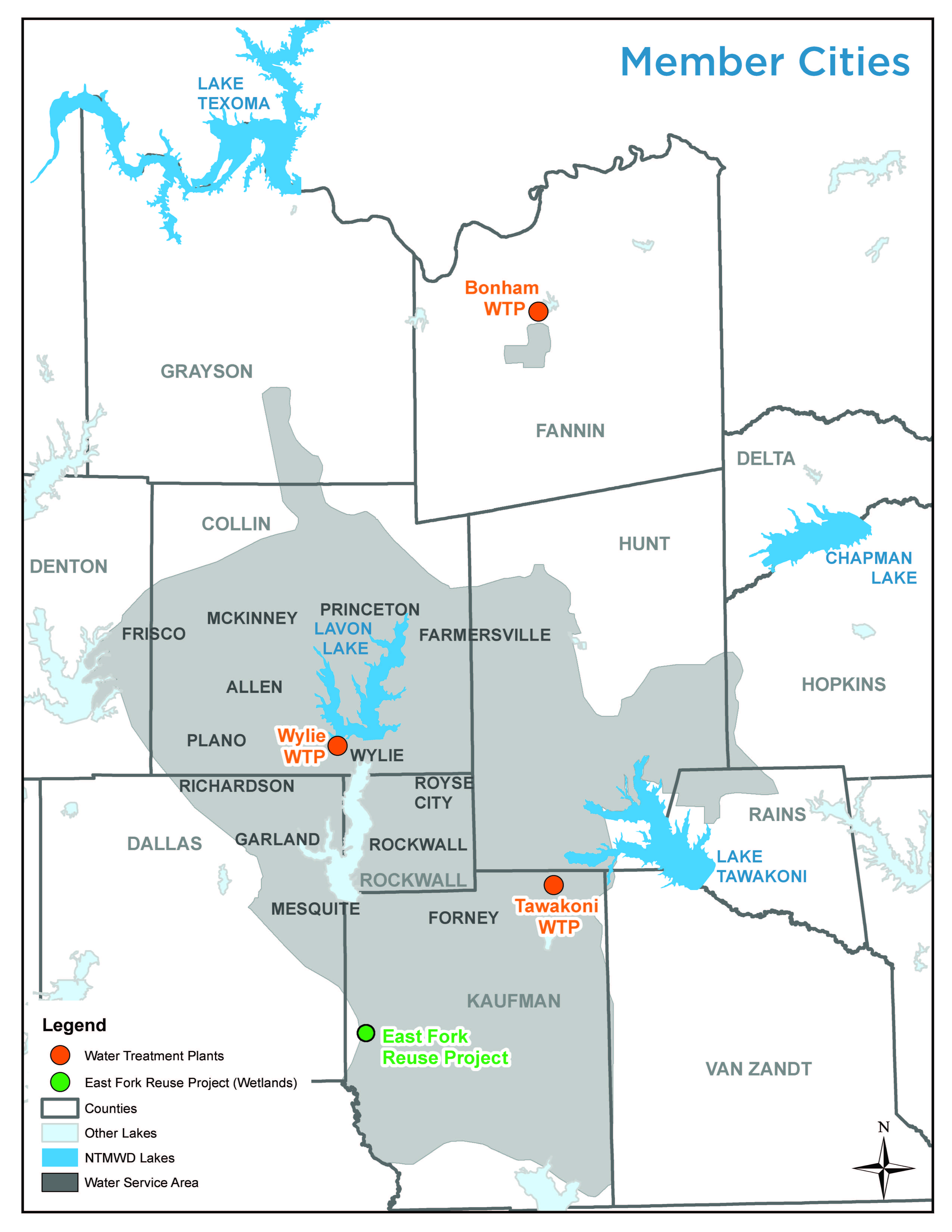 Map Of North Texas Cities.Q A Tom Kula Texas Water