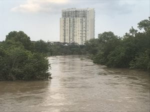 Hurricane Harvey. Photo credit: urban.houstonian.
