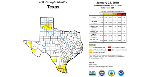 outlook+water: January 2019