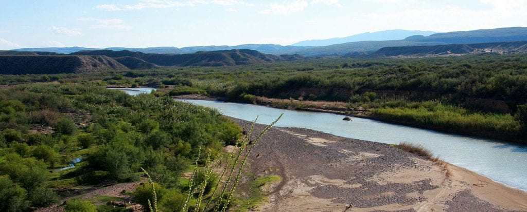Rio Grande in Big Bend National Park. Source: Wikimedia Commons