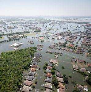 Hurricane Harvey - Port Arthur, Texas. Source.