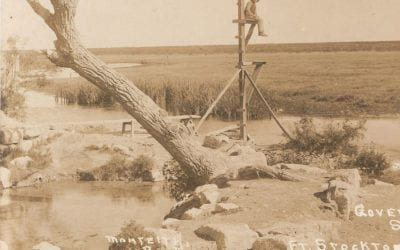 talk+water: Robert Mace & Sharlene Leurig, Comanche Springs Reawakening