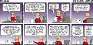 Dilbert cartoon by Scott Adams