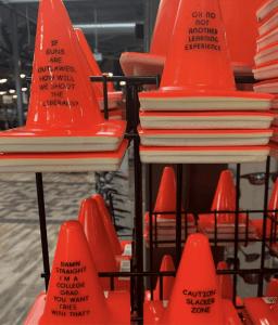 parking cones