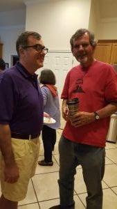 Jason Draper and Dr. McCabe