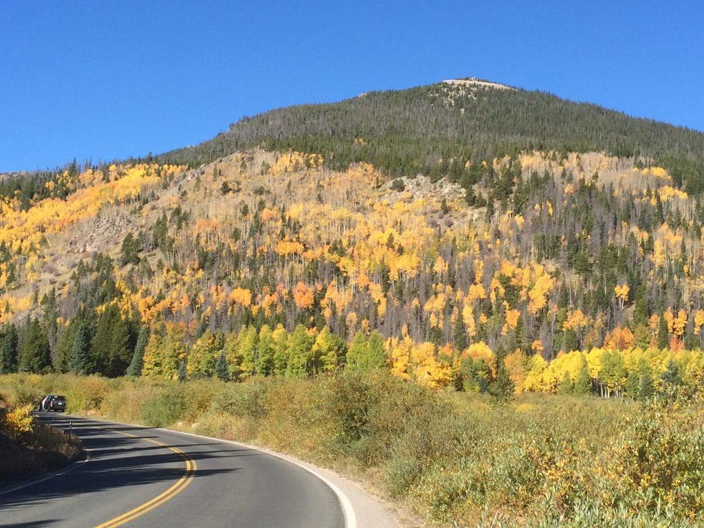 Rocky Mountains near Estes Park, Colorado