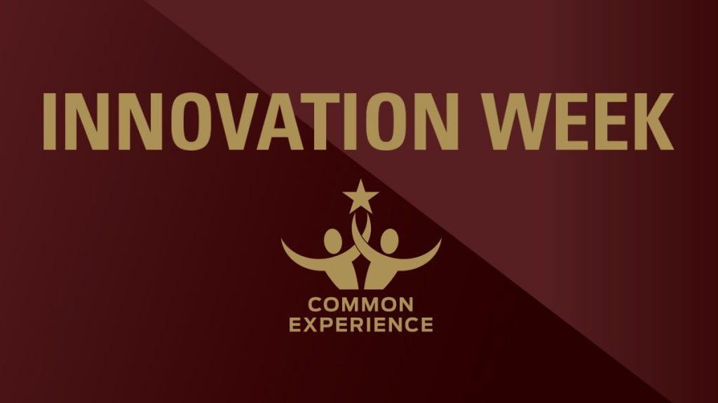 Innovation Week Banner
