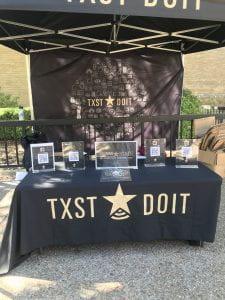 DoIT Booth Outside