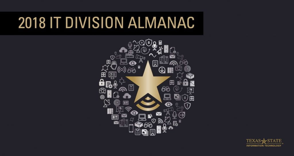 2018 IT Division Almanac front page