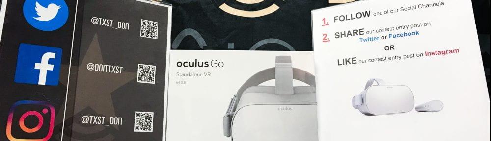 DOIT Oculus Go VR Giveaway Rules