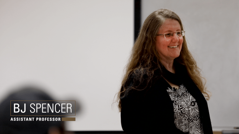Dr. BJ Spencer was interviewed for her Teaching Learning Technology Innovation Grant use
