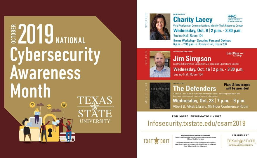 Cybersecurity Awareness Month is here!