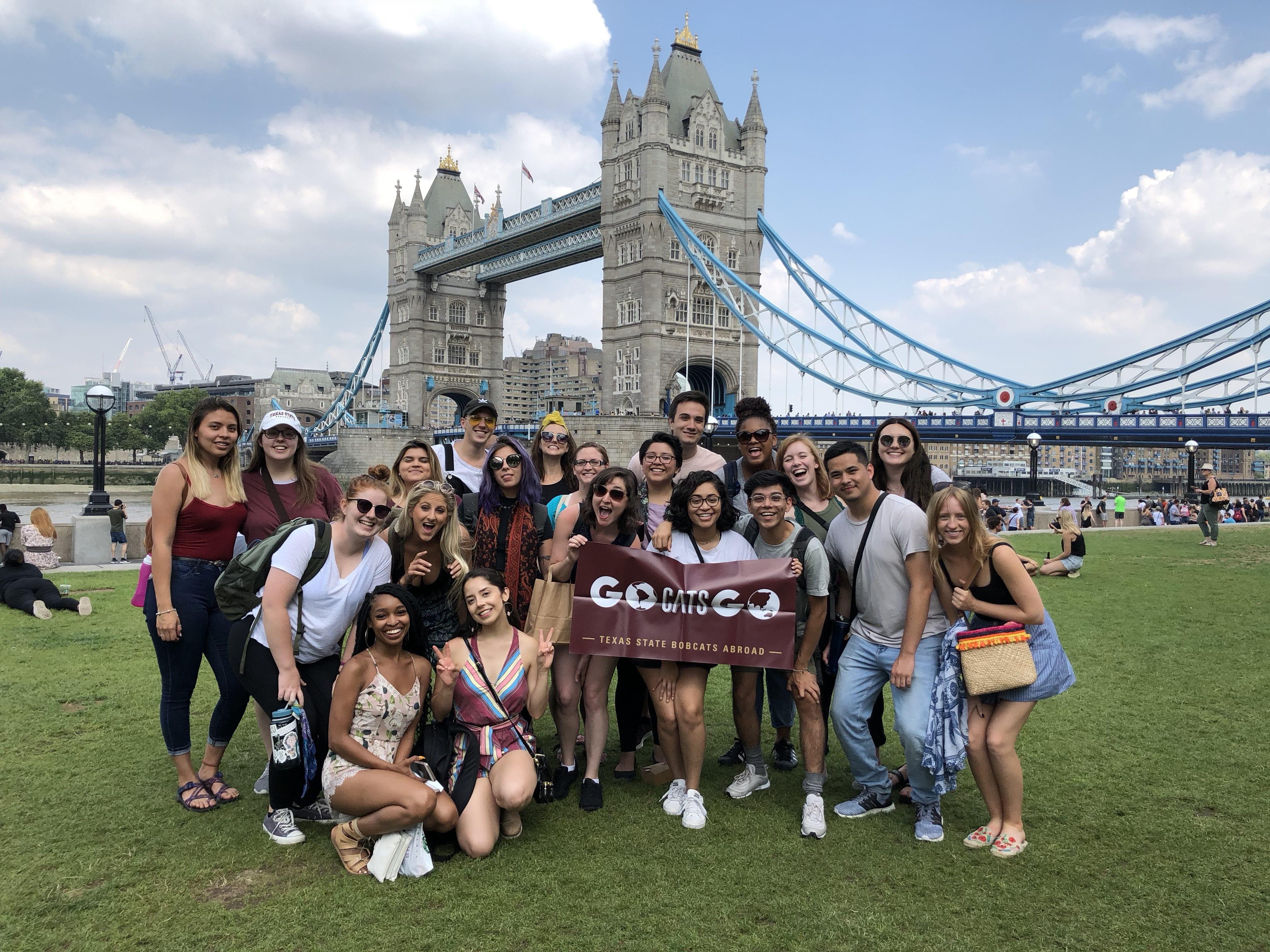 gorup photo Tower Bridge
