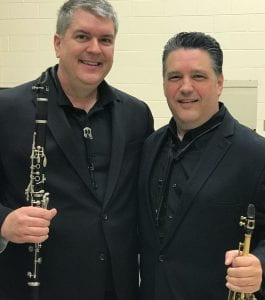 Michael Dean, clarinet, with Oxford