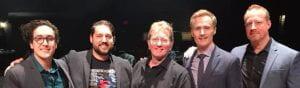 Drummer Greg Clifford, Younts, Hemsoth, Reynolds, Hamrick