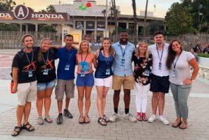Peyton Grover (far Left)
