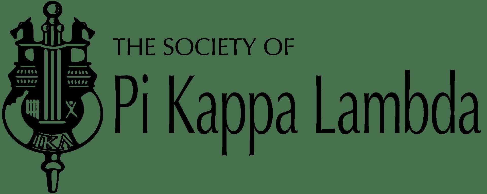 Pi Kappa Lambda crest