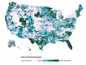 map of U.S. counties and prejudice