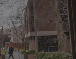 students walking on Princeton campus