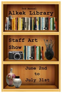 Art Show Poster 7 double image background