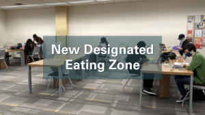 New Designated Eating Zone