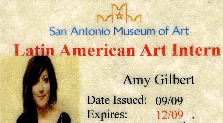 Amy Gilbert, San Antonio Museum of Art ID