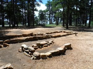 Fig. 2: Walhalla Glades Pueblo on the North Rim of Grand Canyon National Park.