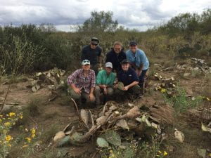 Figure 2: Anthropological team that searched the South Texas Ranches and performed the skeletal recovery in November of 2016.