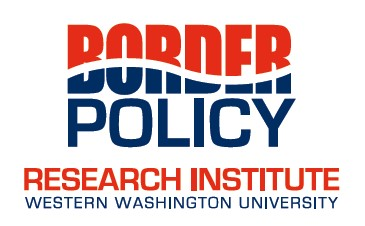 Red, White and Blue Border Policy Research Institute at WWU logo