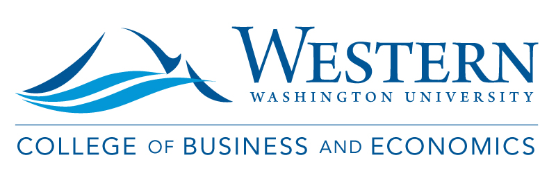 The Center for Economic and Business Research (CBE) at Western Washington University logo