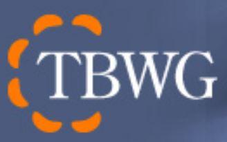 Transportation Border Working Group (TBWG) logo