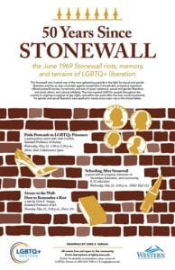 50 Years Since Stonewall events May 22 & 23
