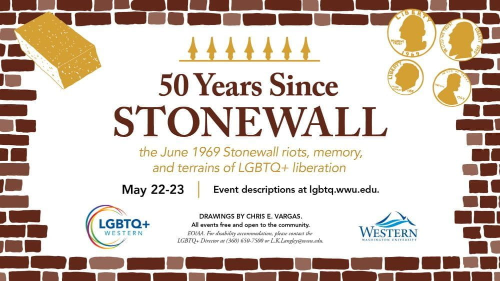 50 Years Since Stonewall events May 22-23