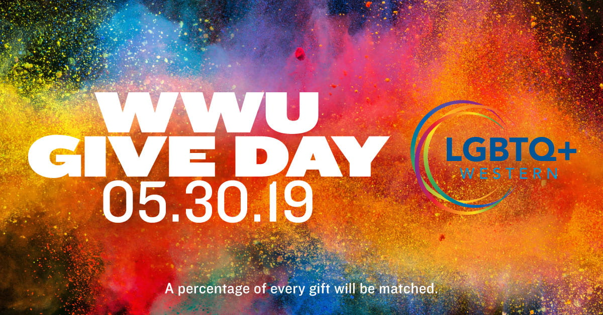 Give to LGBTQ+ Western on Give Day, May 30, 2019