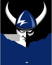 WWU angry Viking head logo above WWU Men's Rugby