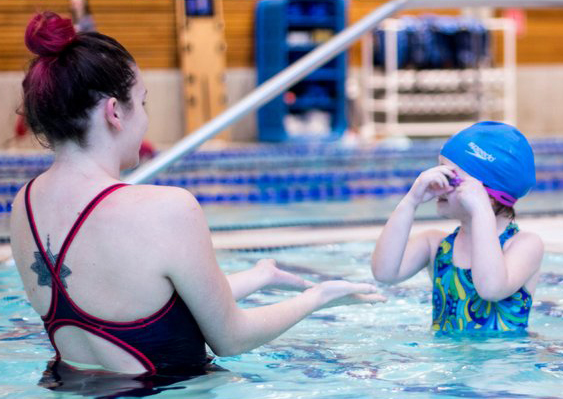 WWU Aquatics Youth Swim Lessons
