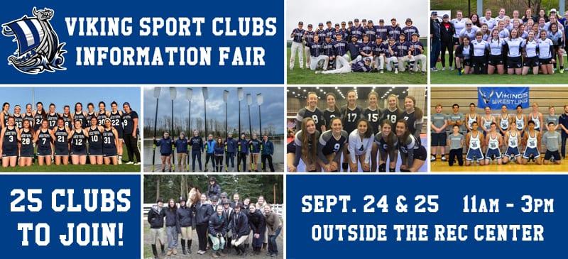 Collage of WWU Sport Club teams