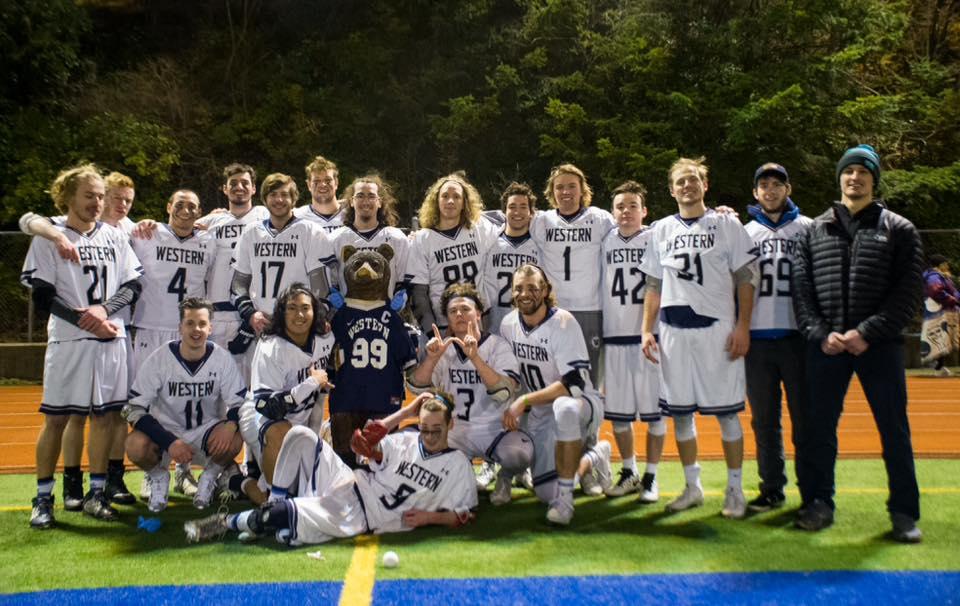 2018 Men's Lacrosse Team Photo