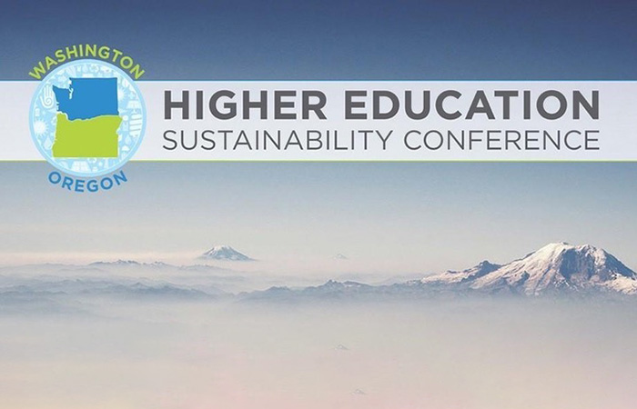 Washington and Oregon Higher education sustainability conference logo