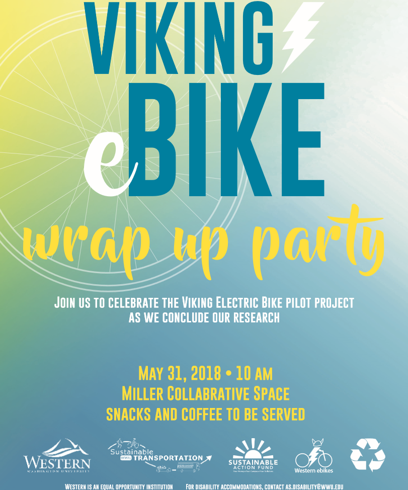 Viking e-bike wrap up party flyer