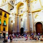 Las Escaleras de La Catedral de Granada
