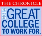 2015 Great College to Work For Graphic