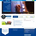 Western Home Page