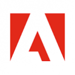 The letter A, the Adobe logo.