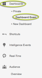 Google Analytics Customize Step 1.2