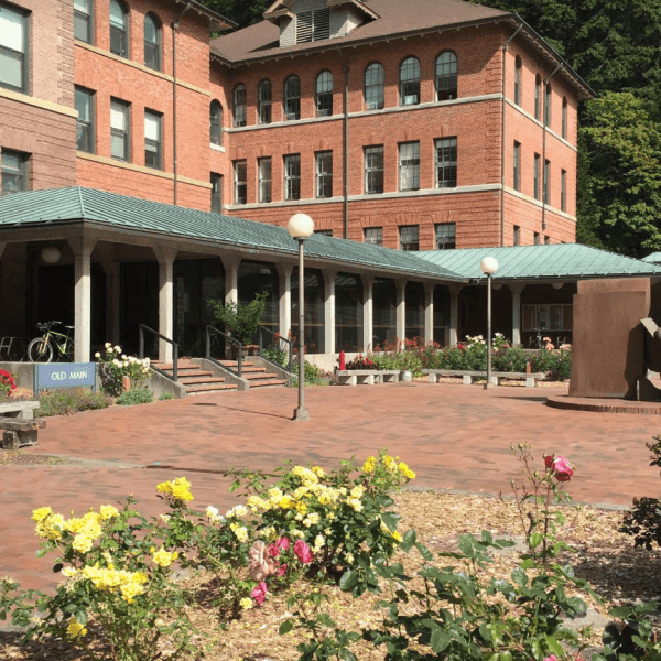 Old main first floor entrance