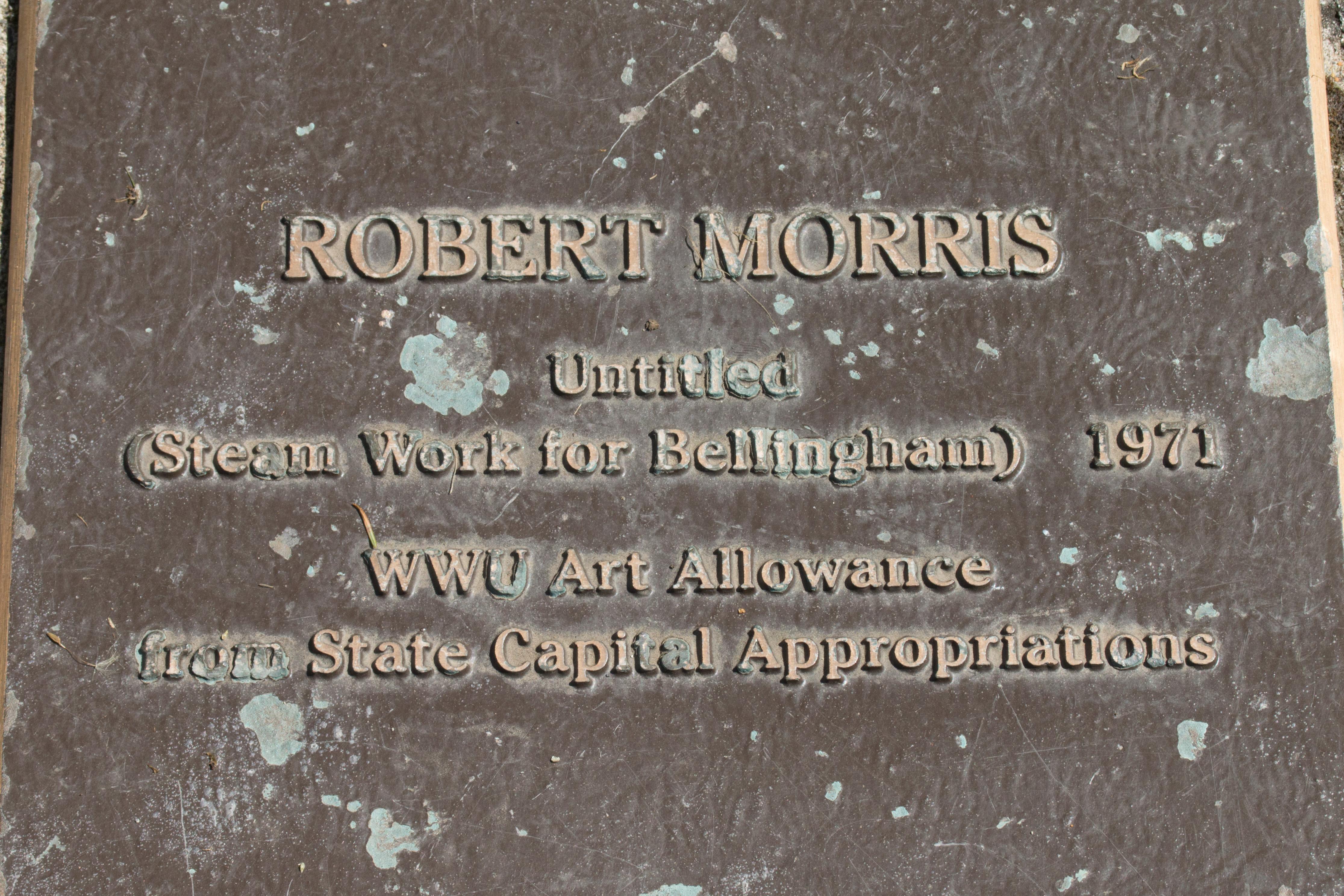 Experience Untitled (Steam Work for Bellingham)- Robert Morris