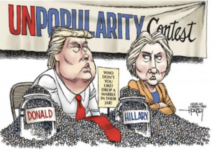 Political Cartoons 2016 Presidential Election