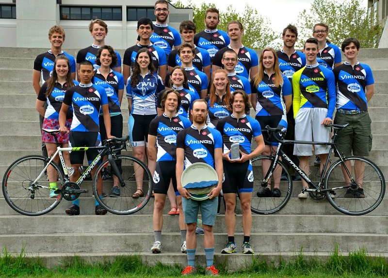 2017 WWU Cycling Team