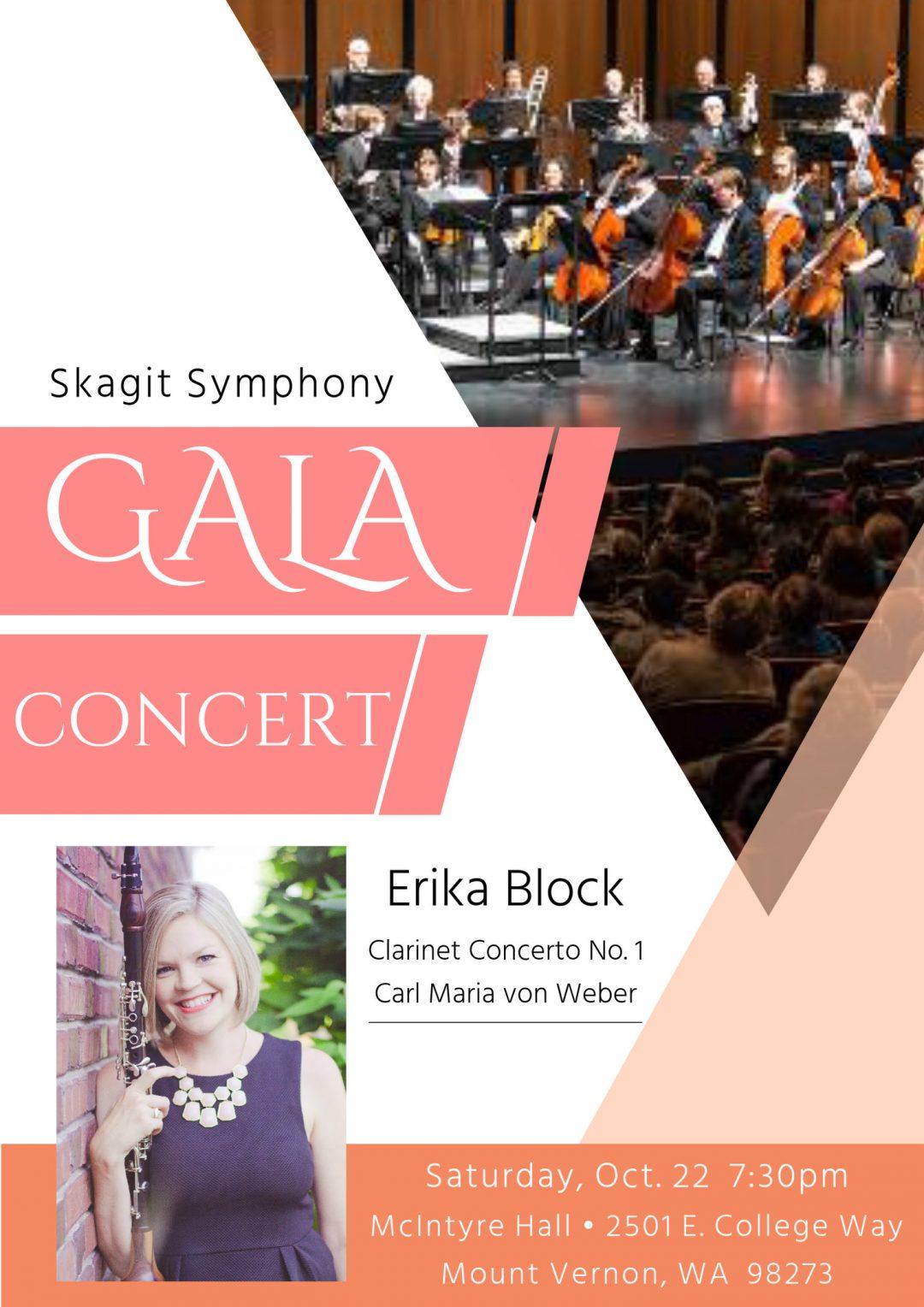 Skagit Symphony with soloist Erika Block